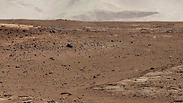 Recent picture of Mars from NASA rover Photo: EPA