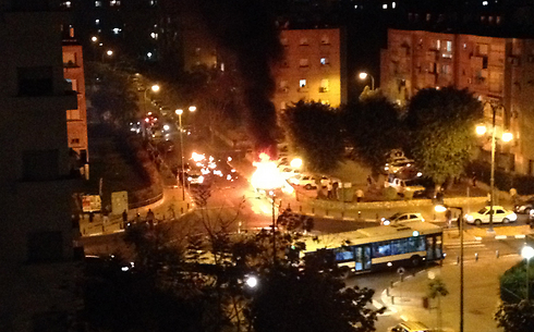 """פיצוץ ב תל אביב ת""""א ב כפר שלם כנראה חיסול"""