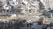 Evacuation from Homs Photo: Reuters