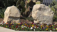 Ariel Sharon's grave Photo: Barel Efraim