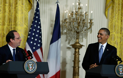 Hollande and Obama at the White House (Photo: Reuters)