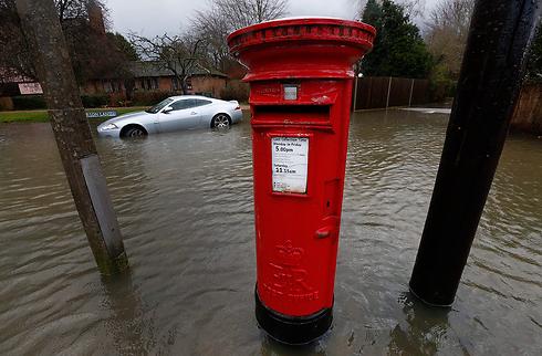 הדואר לא הגיע היום. רייסבארי (צילום: AP)