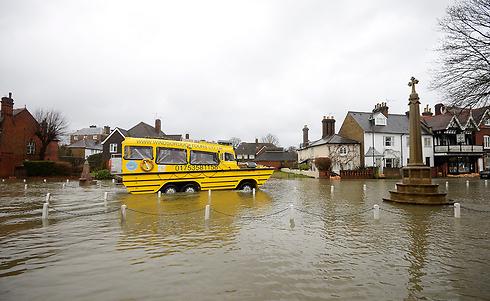 האוטובוס לא נוסע לשום מקום. ברקשייר (צילום: EPA)