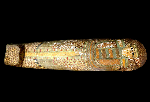 Egyptian mummy sarcophagus (Photo: AFP)