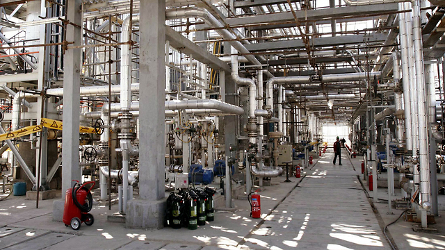 Heavy water reactor in Arak (Photo: Reuters)