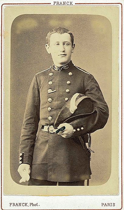 A young Alfred Dreyfus (Photo: Charles Dreyfus, from the Dreyfus family's private collection)