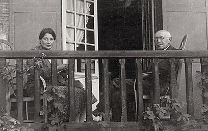 Alfred to Lucie: 'For more than four days nothing – the silent sadness, the dreadful loneliness.' (Photo courtesy of Charles Dreyfus, from the Dreyfus family's private collection)