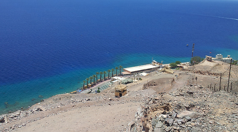 Taba border crossing between Israel, Egypt (Photo: Yoav Zitun)