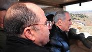 Netanyahu and Gantz Photo: Ariel Hermoni