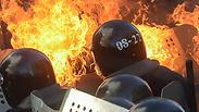 Kiev riots Photo: EPA