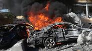 פיצוץ ב ביירות בירות מכונית תופת ב לבנון Photo: AP