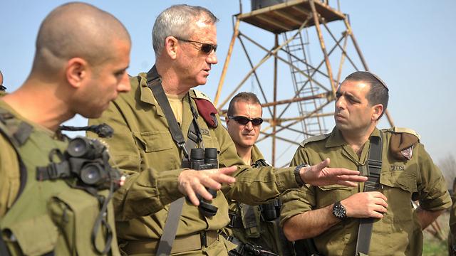 IDF Chief of Staff Benny Gantz (Photo: IDF Spokesperson Unit)