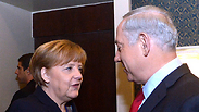 Merkel and Netanyahu Photo: GPO