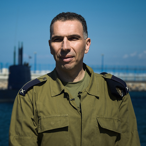 Haifa base commander Brigadier General Eli Sharvit (Photo: IDF Spokesperson's Unit) Photo: IDF Spokesperson's Unit