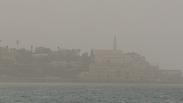 Sand storm over Tel Aviv Yaron Brenner