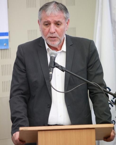 Cohen at press conference, Monday (Photo: Motti Kimchi)