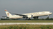 Etihad Airways plane Photo: Montague Smith