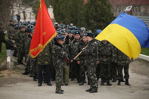 Ukrainian soldiers in Crimea (Photo: Getty Imagebank)