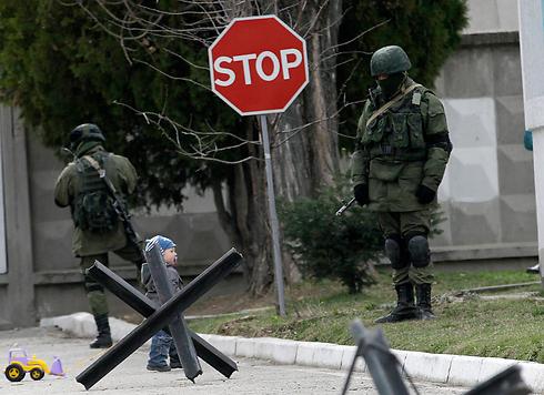 Russian soldiers in Ukraine (Photo: AP)