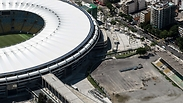 A World Cup stadium in Brazil