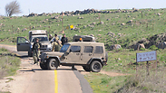 Three IDF soldiers hurt in blast on Israel-Syria border Photo: Avihu Shapira