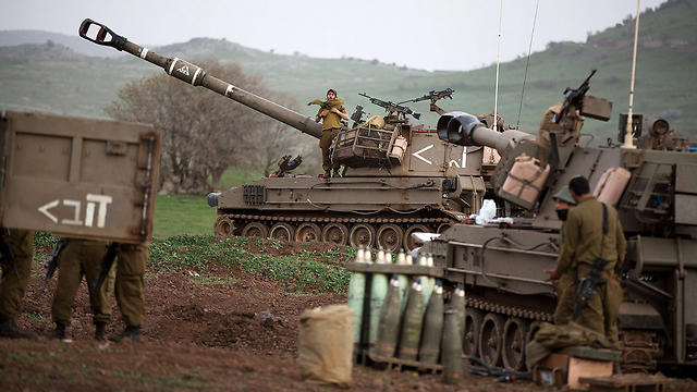 IDF forces near Lebanese border (Photo: AFP/Archive)
