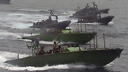 Israeli Navy seizing Iran arms ship Photo: IDF Spokesperson's Unit