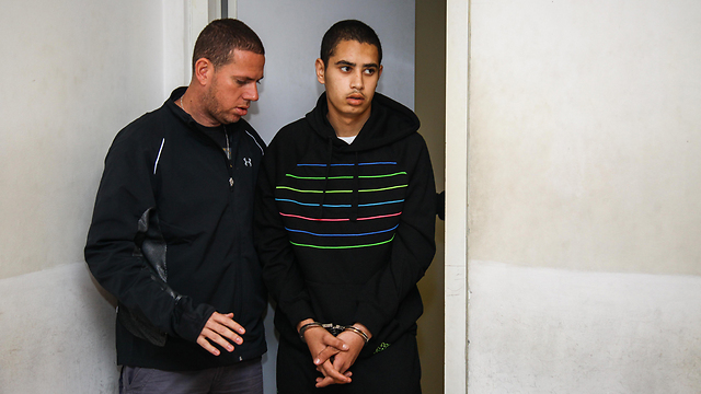 Omer Halwanni, one of the suspects arrested in connection to the Acre blast (Photo: Avishag Shaar-Yashuv) (Photo: Avishag Shaar-Yashuv)