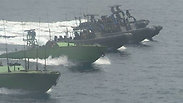 IDF seizing Iranian arms ship Photo: IDF Spokesperson's Unit