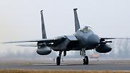 F-15 Photo: AFP