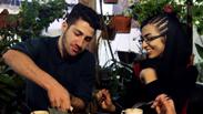 Café in Tehran Photo: AP