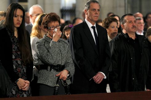 Relatives of those killed on the trains at commemoration ceremony (Photo: Getty Imagebank) (Photo: Getty Imagebank)