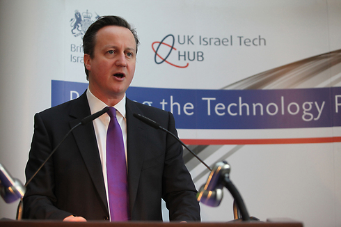 David Cameron: ISIS poses greater threat than ever. (Photo: Gil Yochanon) Photo: Gil Yochanon