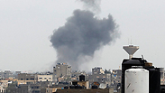 Smoke rises following blast in Gaza (Archive) Photo: AFP