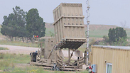 Iron Dome battery near Beersheba Photo: Herzel Yosef