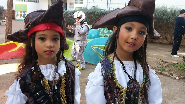 Pirates of the Gaza-envelope region (Photo: Roee Idan)