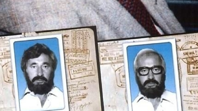 Peres' fake IDs (Photo: Shimon Peres' Official Facebook Page)