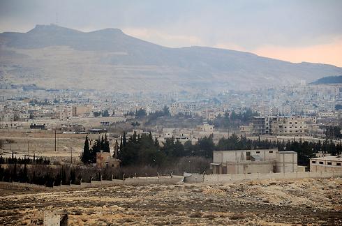 Yabroud after seizure by Assad forces (Photo: AFP/SANA)