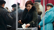 Voting in the Crimea referendum Photo: Reuters