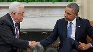 Obama and Abbas at the White House Photo: AP