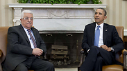 PA President Abbas meeting with US President Obama Photo: AFP