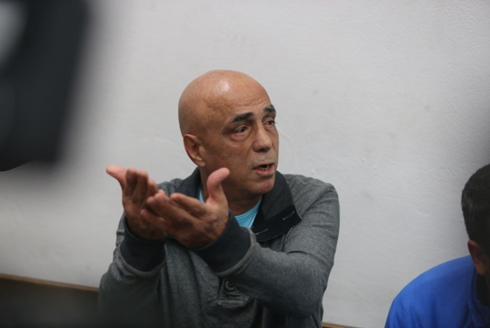 Eitan Haya in court (Photo: Motti Kimchi)