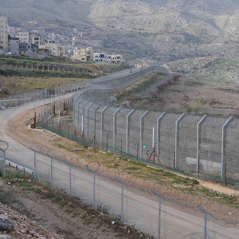 Israel-Syria border (Photo: Avihu Shapira) (Photo: Avihu Shapira)