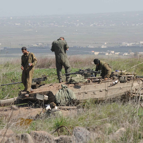 IDF forces along northern border (Archive photo: Avihu Shapira)