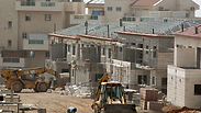 Construction in Ariel (Archive) Photo: AFP