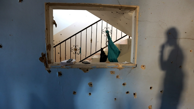 The house in which Al-Haija was hiding (Photo: EPA)