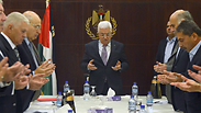 Fatah Central Committee meeting in Ramallah Photo: EPA