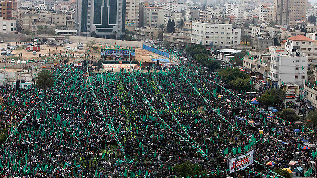 Tens of thousands attend rally (Photo: Reuters)