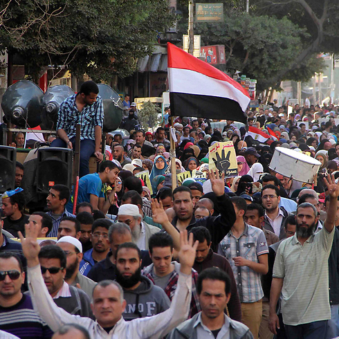 Muslim Brotherhood supporters in Egypt (Photo: Reuters) Photo: Reuters