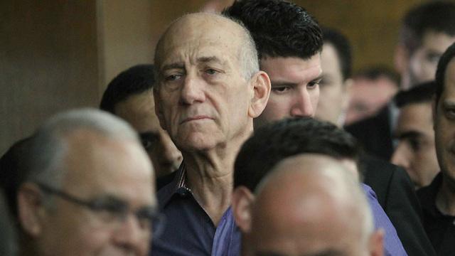 Former prime minister Olmer (Photo: Ido Erez)